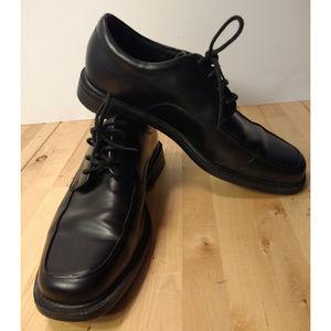Rockport Evander Black Leather Oxfords Men's 9 M